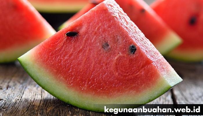 kegunaan buah semangka